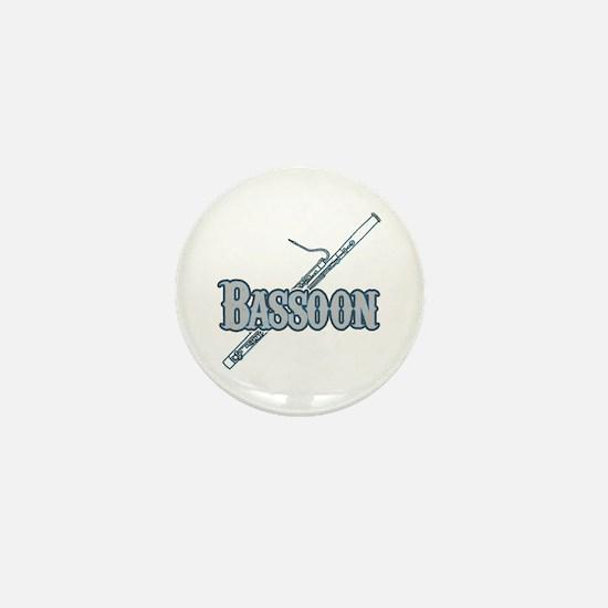 Bassoon Woodwind Band Member Mini Button