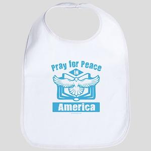Pray for America Bib