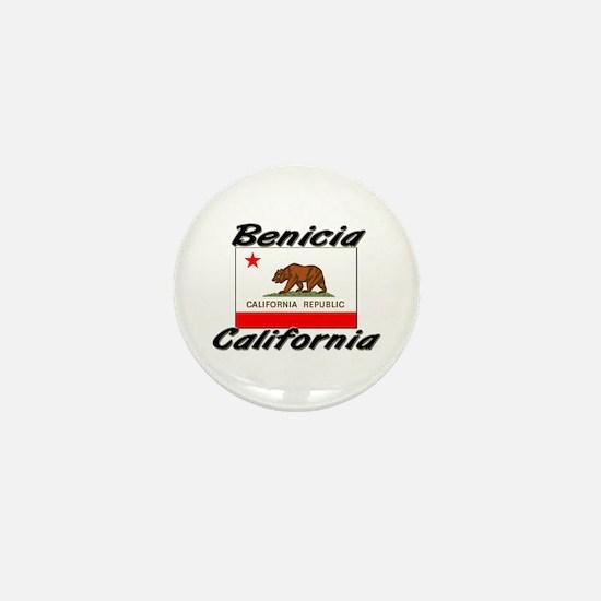 Benicia California Mini Button