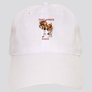 Paint Horses Rock Cap