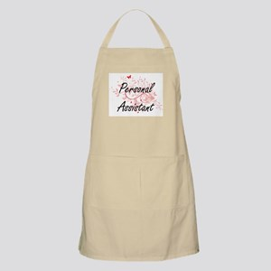Personal Assistant Artistic Job Design with Apron