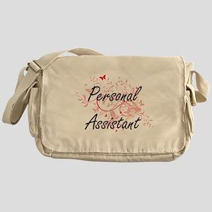 Personal Assistant Artistic Job Desi Messenger Bag