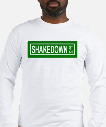 Shakedown Street Sign Long Sleeve T-Shirt