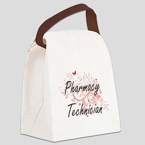 Pharmacy Technician Artistic Job Canvas Lunch Bag