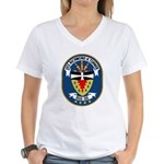 USS Richmond K. Turner (DLG 20) Women's V-Neck T-S