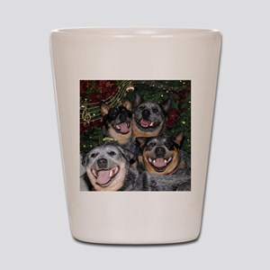 Joy to the World ACD Style Shot Glass