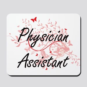 Physician Assistant Artistic Job Design Mousepad