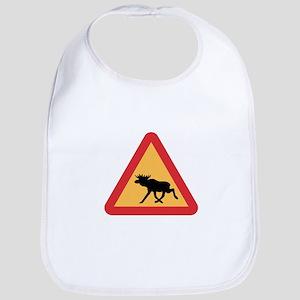 Caution Elks, Sweden Bib