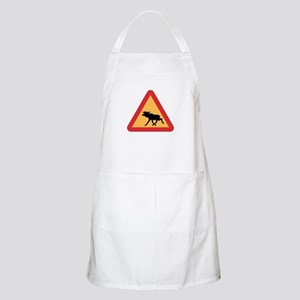 Caution Elks, Sweden BBQ Apron