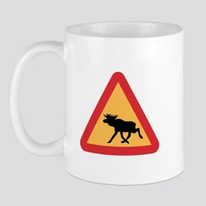 Caution Elks, Sweden Mug