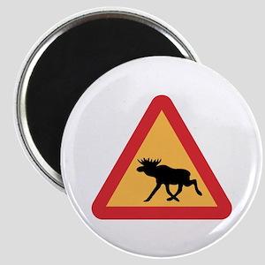 Caution Elks, Sweden Magnet