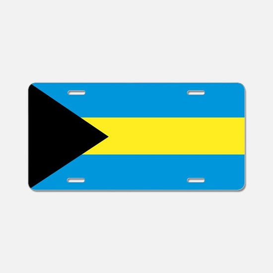 The Bahamas Aluminum License Plate