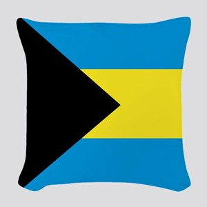 The Bahamas Woven Throw Pillow