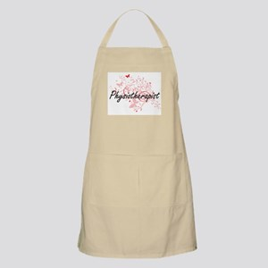 Physiotherapist Artistic Job Design with But Apron