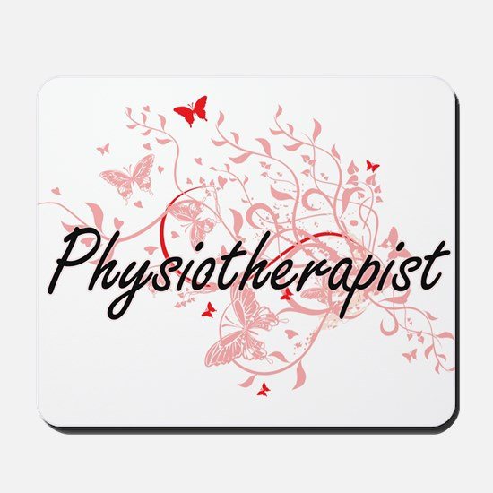 Physiotherapist Artistic Job Design with Mousepad