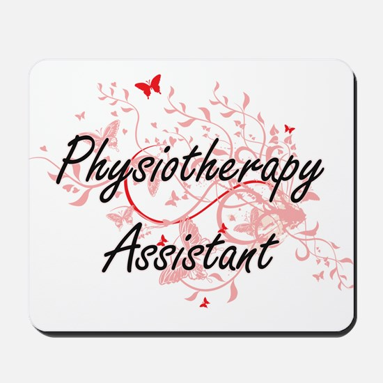 Physiotherapy Assistant Artistic Job Des Mousepad