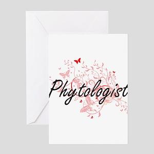 Phytologist Artistic Job Design wit Greeting Cards