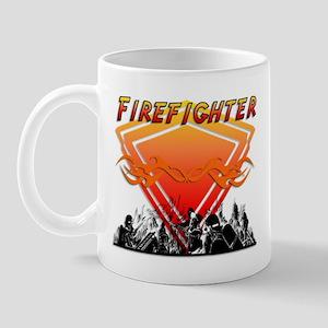Firefighter Scene Mug