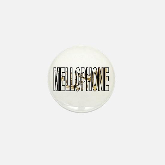 Mellophone Brass Marching Band Mini Button