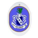 USS Belknap (DLG 26) Oval Ornament