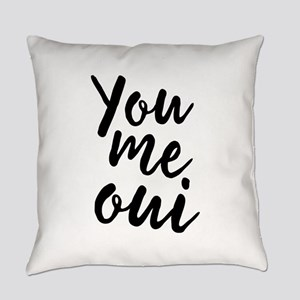 You Me Oui Everyday Pillow