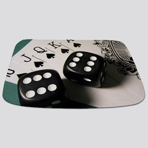 Cards And Dice Bathmat