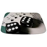 Poker Memory Foam Bathmats