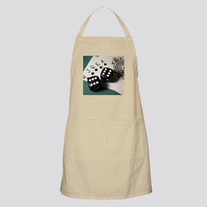 Cards And Dice Apron