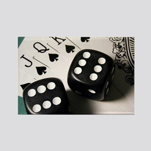 Cards And Dice Magnets