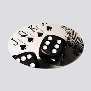 Cards And Dice Wall Sticker