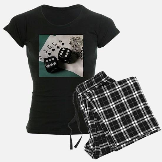 Cards And Dice pajamas