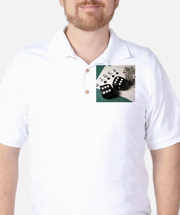 Cards And Dice Golf Shirt