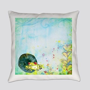 Red Eyed Frog Everyday Pillow