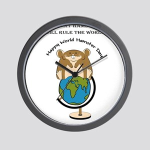Hamsters rule the World Wall Clock