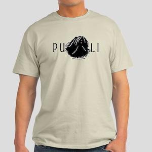 Puli Dog w/ Puli Text Light T-Shirt