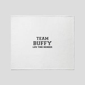 Team BUFFY, life time member Throw Blanket
