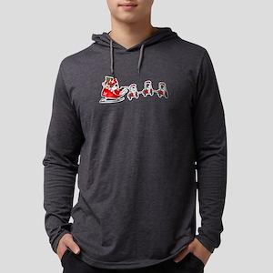 Santa's Sleigh Golf Cart Golf Long Sleeve T-Shirt