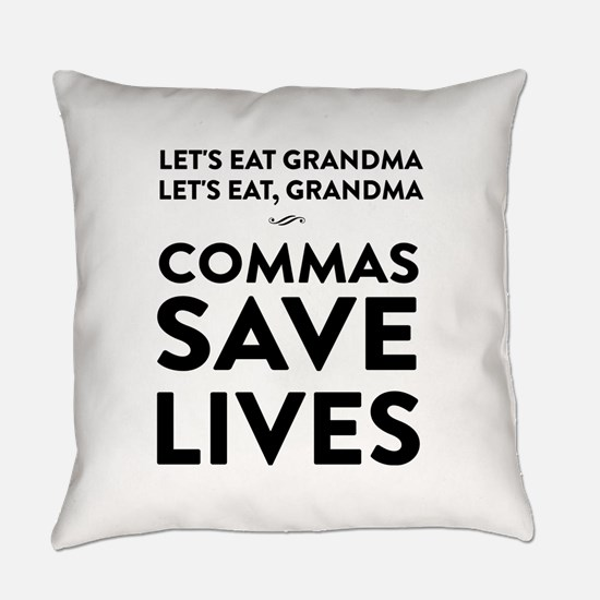 Let's Eat Grandma Commas Save Lives Everyday Pillo