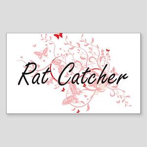 Rat Catcher Artistic Job Design with Butte Sticker