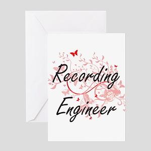 Recording Engineer Artistic Job Des Greeting Cards