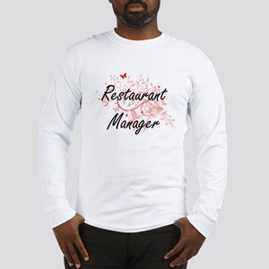 Restaurant Manager Artistic Jo Long Sleeve T-Shirt