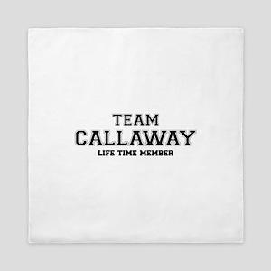 Team CALLAWAY, life time member Queen Duvet