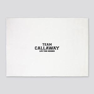 Team CALLAWAY, life time member 5'x7'Area Rug