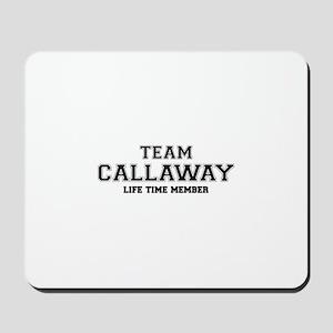 Team CALLAWAY, life time member Mousepad