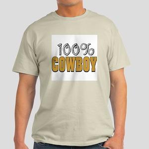 100% Cowboy Light T-Shirt