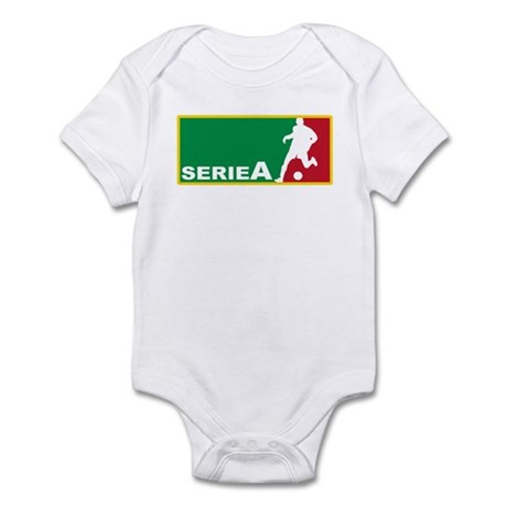 Italian Soccer league serie A Infant Bodysuit