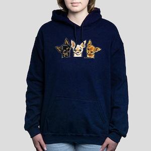 3 Smooth Chihuaha Sweatshirt
