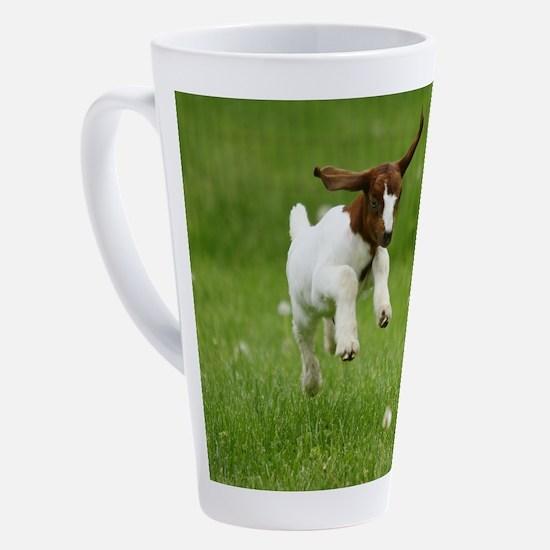 Cute Goats 17 oz Latte Mug