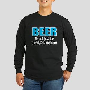 Beer Breakfast Long Sleeve Dark T-Shirt
