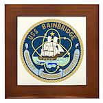 USS Bainbridge (DLGN 25) Framed Tile
